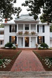 House Makeovers Ideas About Colonial House Exteriors Makeovers Planters For Homes