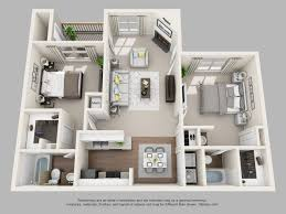 Floor Plan Of An Apartment 1 2 And 3 Bedroom Apartments In Louisville Ky Floor Plans