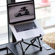 Desk Laptop Stand by Amazon Com Nexstand Portable Laptop Stand Foldable Adjustable