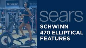 schwinn 470 elliptical feature console youtube