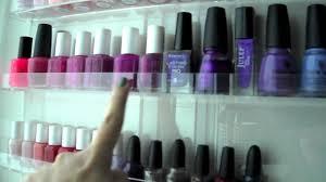 my acrylic nail polish rack youtube
