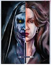 matthew therrien the conjuring 2 horror art pinterest