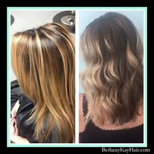 the latest hair colour techniques before and after haircut hair color picture gallery