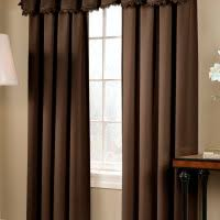 Curtains For Brown Living Room Living Room Engaging Image Of Living Room Window Treatment