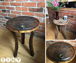 Diy Side Table Diy Side Table From An Barrel