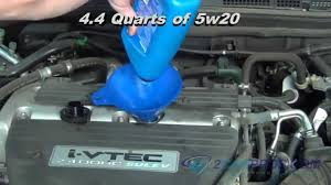 changing transmission fluid honda accord change filter replacement honda accord 2003 2007