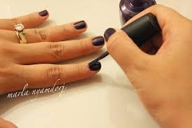marlakeup nails jeweled and vampy