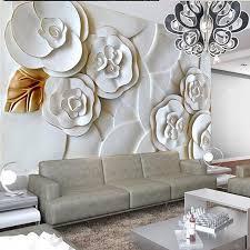 Papier Peint Salon Moderne by Online Get Cheap Blanc Papier Peint Avec Blanc Roses Pour Les Murs