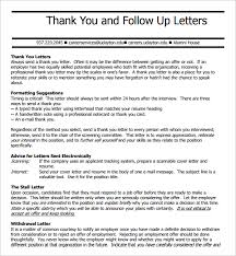 sle thank you follow up letter thank you follow up email