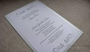 Unique Invitations Silver Wedding Invitations Redwolfblog Com