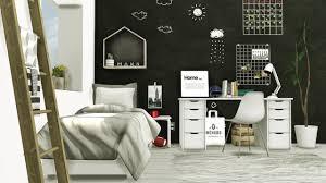 mxims scandinavian style boys room ikea mandal single sims