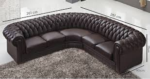 canapé chesterfield cuir deco in canape chesterfield cuir