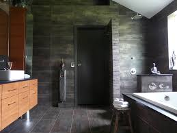 open shower design bathroom contemporary with neutral colors