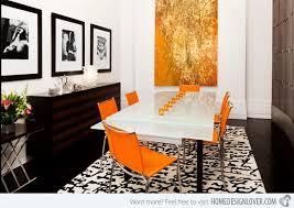 Best  Orange Dining Room Ideas On Pinterest Orange Dining - Burnt orange dining room