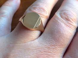 signet wedding ring 20 best mens signet rings at all things gold images on