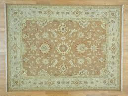 Flat Rug 9 U0027x12 U0027 100 Percent Wool Flat Weave Soumak Hand Woven Oriental Rug