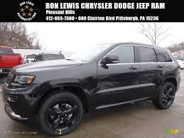 jeep black 2016 2016 brilliant black crystal pearl jeep grand cherokee overland