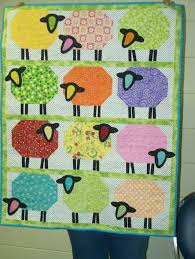 K Henblock Angebote Counting Sheep Quilt Wanda M Enterprise Quilt Guild