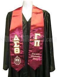 personalized graduation stoles personlized embroidered satin graduation stole