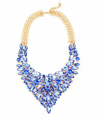 chunky gold necklace fashion images Wholesale large gold chunky statement necklace gold navy bead jpg