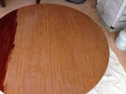 laminate table top refinishing refinishing a dining room table hometalk