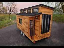 Modern Tiny House Beautiful Modern Tiny House On Wheels Youtube