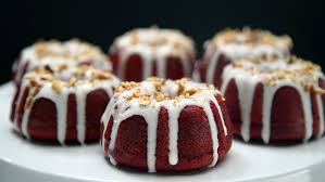 red velvet mini bundt cakes recipe tastemade