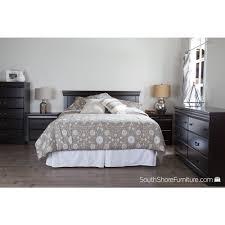 south shore vintage 2 drawer dark mahogany nightstand 9033060