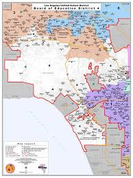 Los Angeles District Map by Board District 4 U2014 Nick Melvoin For Board