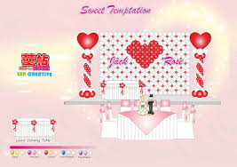 wedding backdrop name design decoration wedding card servies ipoh perak malaysia