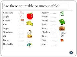 Exercises Count And Non Count Nouns How To Learn Basic Count Noun