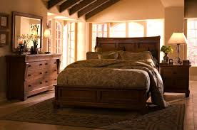 Bedroom Furniture Cherry Wood by Luxury Amish Mission Bedroom Set Solid Rustic Cherry Wood Queen