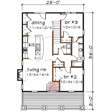 13 canadian home designs bungalow house floor plan and elevation
