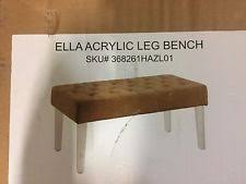 clear benches and stools ebay