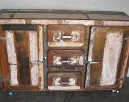 Reclaimed Wood Buffet Table by Industrial Sideboard Etsy