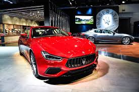 maserati red 2018 maserati ghibli lands with updated looks more power