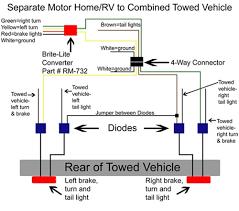 4 way trailer light diagram wiring diagram