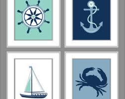 Sailboat Decor For Nursery Nautical Nursery Etsy
