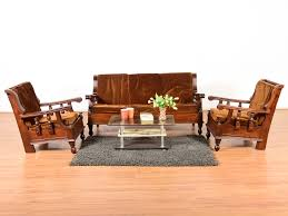 Sell Old Furniture Online Bangalore Staley Teak 5 Seater Sofa Set Buy And Sell Used Furniture And