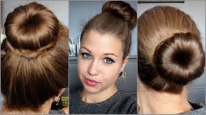 Image Swag Pour Fille by Hair Tutorial N 19 3 Buns With A Donut Youtube