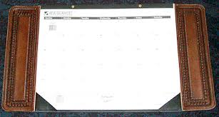 cool desk pad calendars custom leather desk calendar set personalized leather desk pad