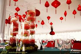 chinese wedding centerpiece decorations red chinese wedding