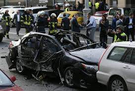 toyota foreigner foreigner killed in car explosion in central kiev police say