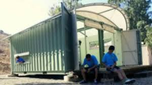 Arched Cabins by Gensler Designs Shipping Container Eco Cabins For Boy Scouts Youtube