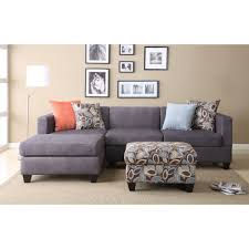 good blue microfiber sectional sofa 81 in bernhardt sectional