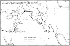 Map Of Canaan Untitled