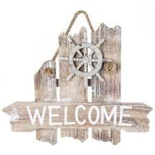nautical welcome wood wall decor hobby lobby 250852
