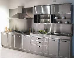 nice stainless steel kitchen cabinets lovely interior design ideas