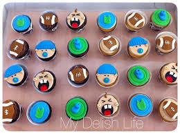 football themed baby shower baby shower cupcakes football theme cakecentral