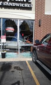 photos car slams into jimmy s in volo cbs chicago